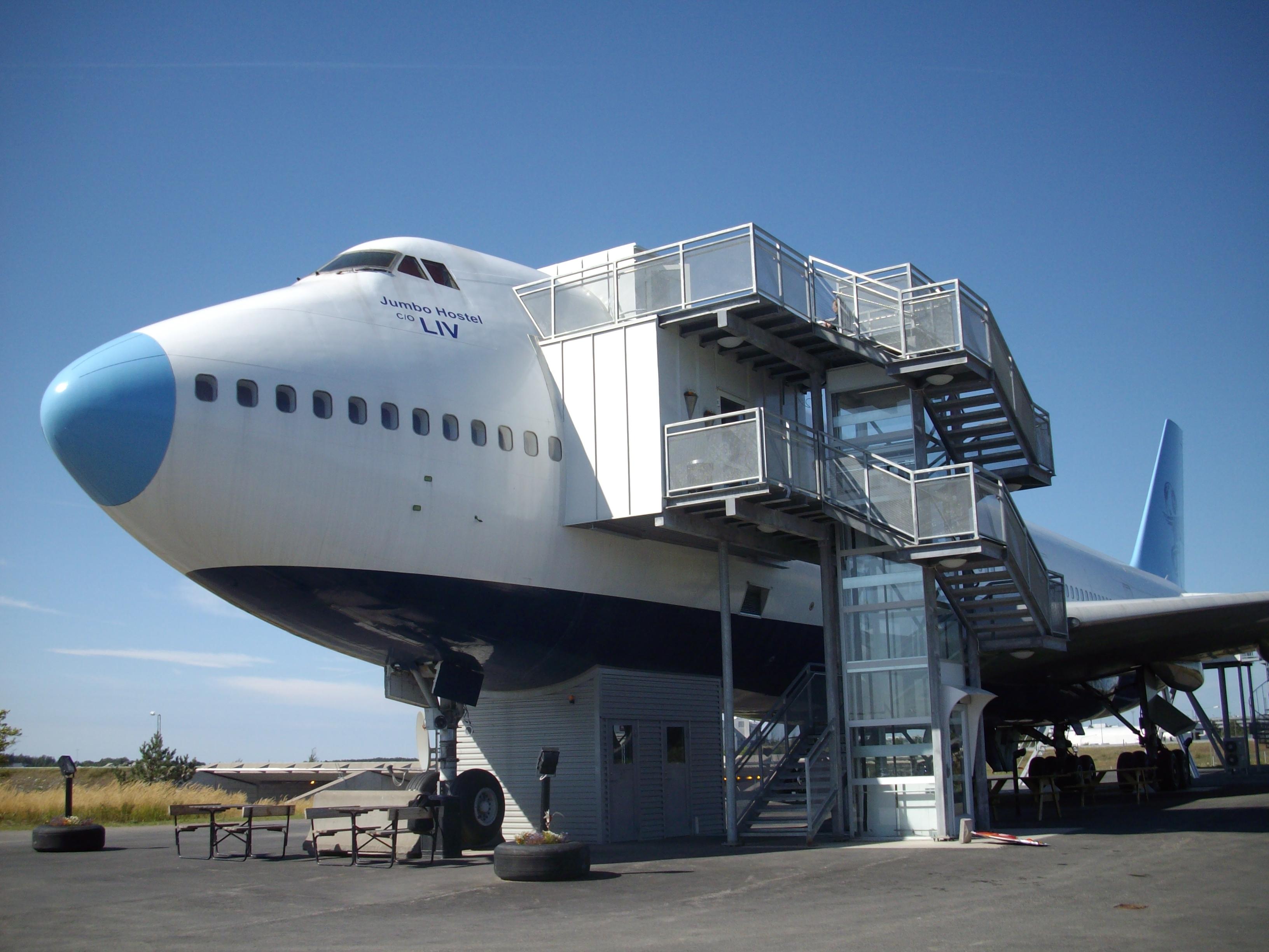jumbo hostel arlanda airport stockholm sweden