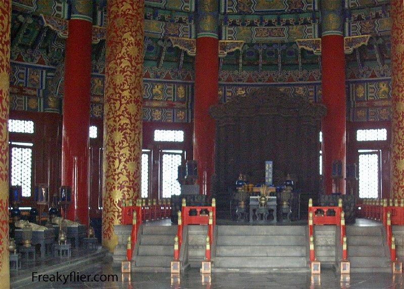 Inside The Hall of Prayer for Good Harvest