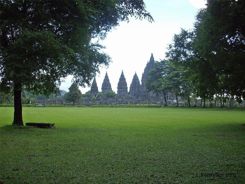 View from the park, Prambanan