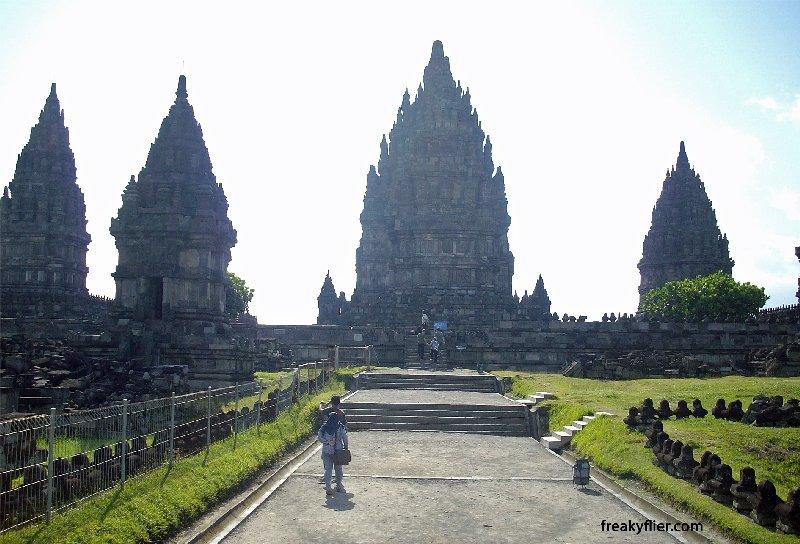 Prambanan Temple entrance