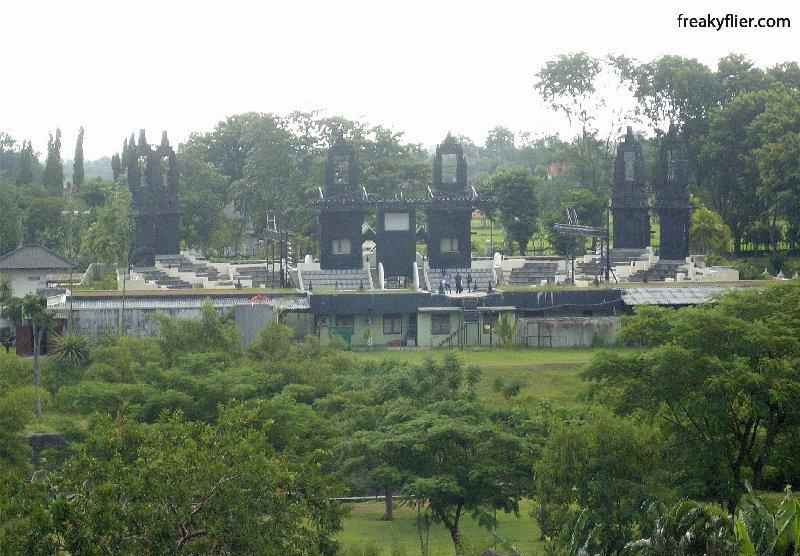 Ramayana Ampitheatre from Prambanan
