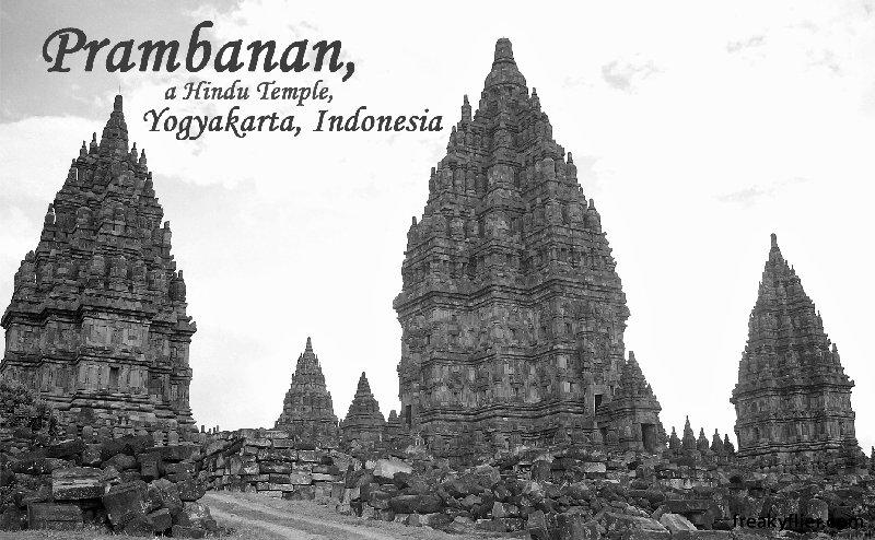 Prambanan, a Hindu Temple, Yogyakarta, Indonesia