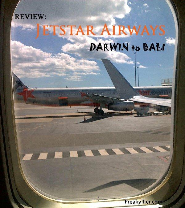Jetstar Darwin to Bali