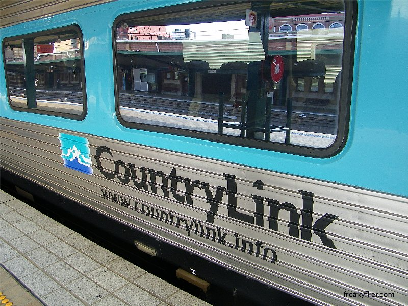 Countrylink Xplorer at Sydneys Central Station