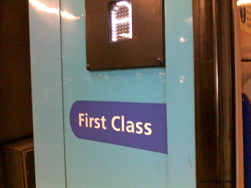 First Class Entry on CountryLink Xplorer