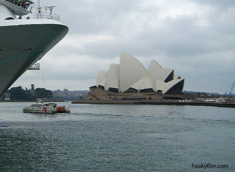 Opera House, opened by the Queen in 1973