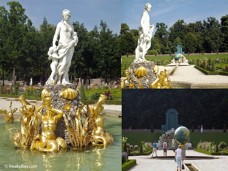 Statues of Greek Gods and Goddesses at Het Loo