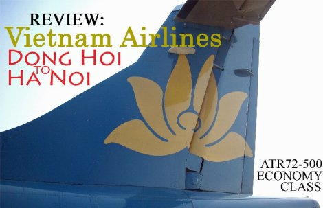 Review: Vietnam Air;lines Dong Hoi to Ha Noi ATR72-500 Economy Class