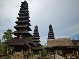 11 levels of thatching at Mengwi Temple