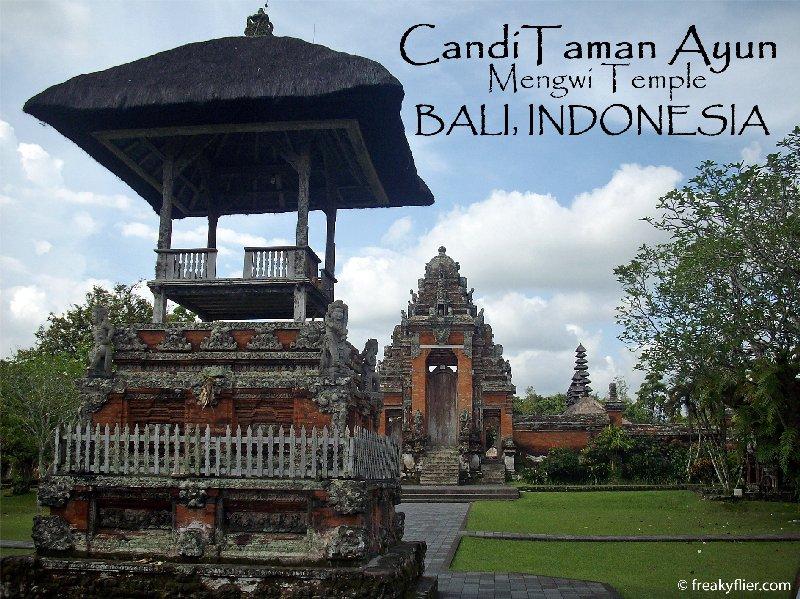 Candi Taman Ayun, Mengwi Temple, Bali Indonesia