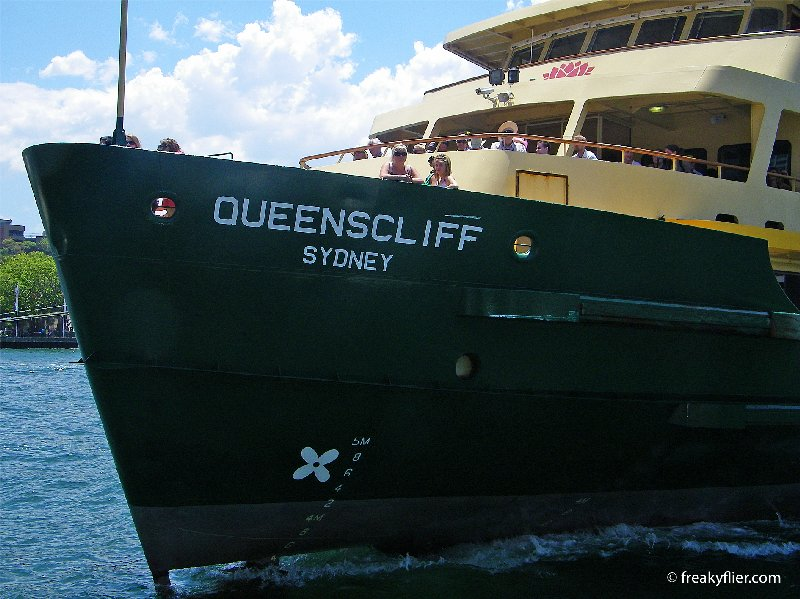 Manly Ferry - Quenscliff