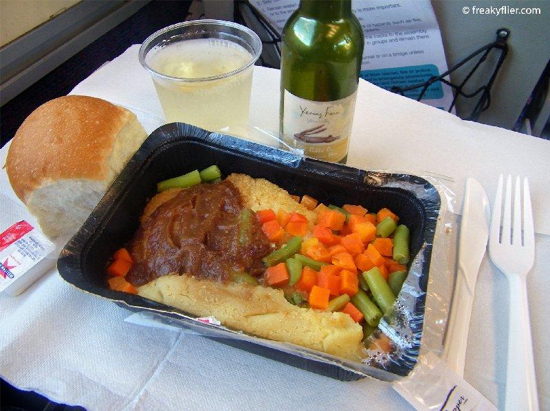Chicken schnitzel and white wine lunch