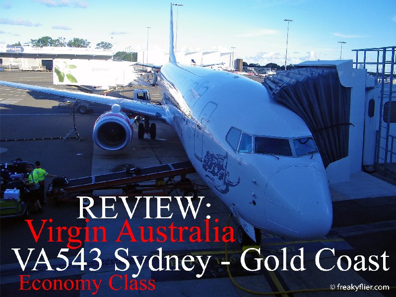 REVIEW: Virgin Australia VA543 Sydney - Gold Coast Economy Class