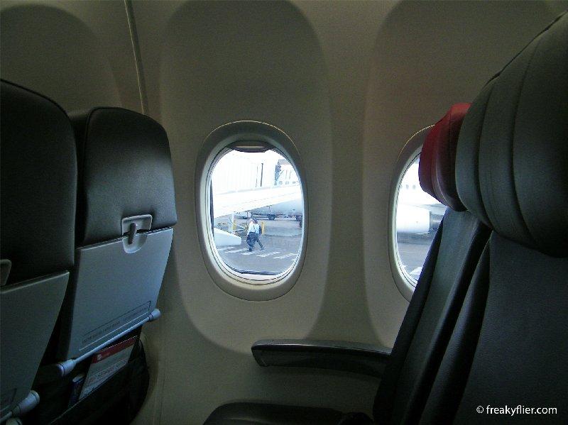 Indoors Boeing 787 Dreamliner