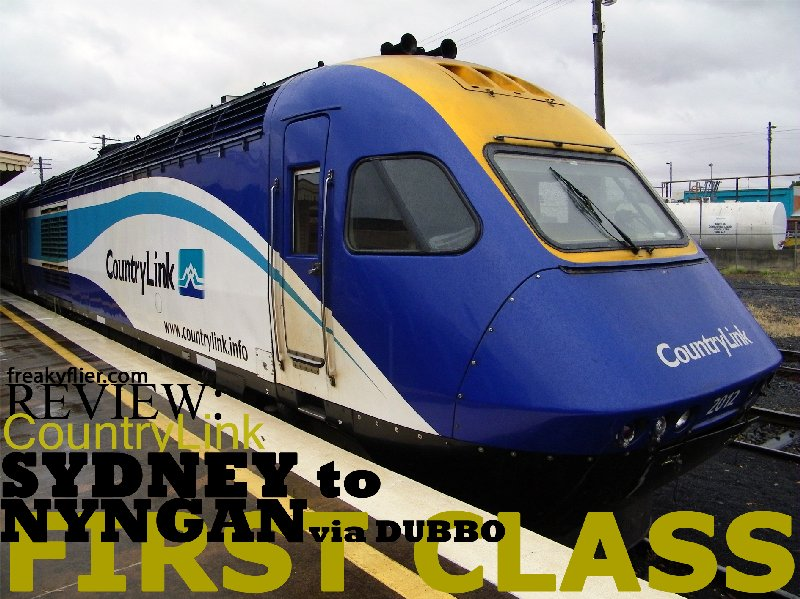 CountryLink XPT Sydney to Nyngan (via Dubbo) First Class