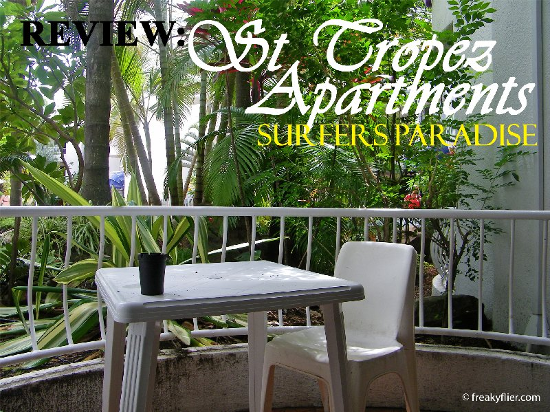 REVIEW: ST Tropez Apartments, Surfers Paradise
