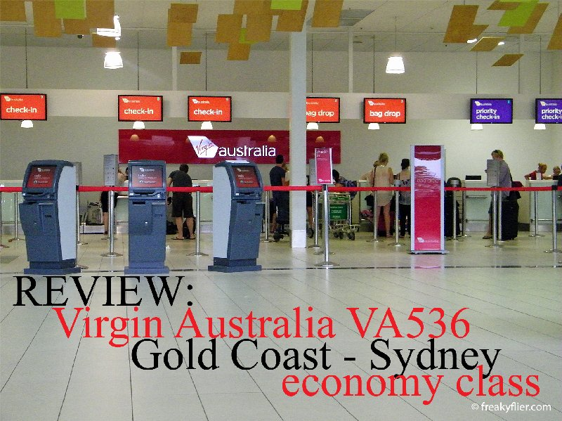 REVIEW: Virgin Australia flight VA536 Gold Coast to Sydney economy class