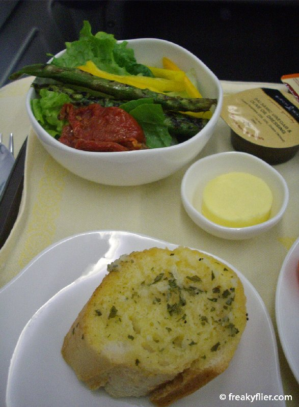Salad and my choice of bread