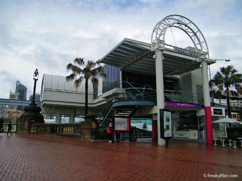 Harbourside Monorail Station at Darling Harbour