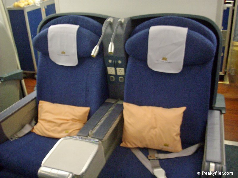 Seats 4C and 4D, last row of the centre section on Vietnam Airlines