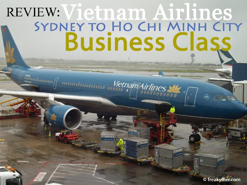 Vietnam Airlines Airbus a330-200 at Sydney Airport preparing for departure