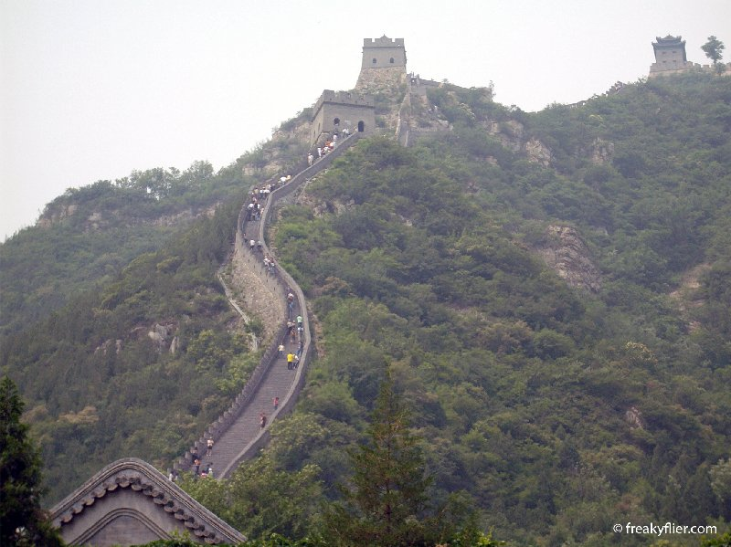 Mountainous Juyongguan Pass - The Great Wall of China
