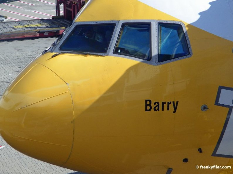 'Barry' one of Scoot's five Boeing 777-200's