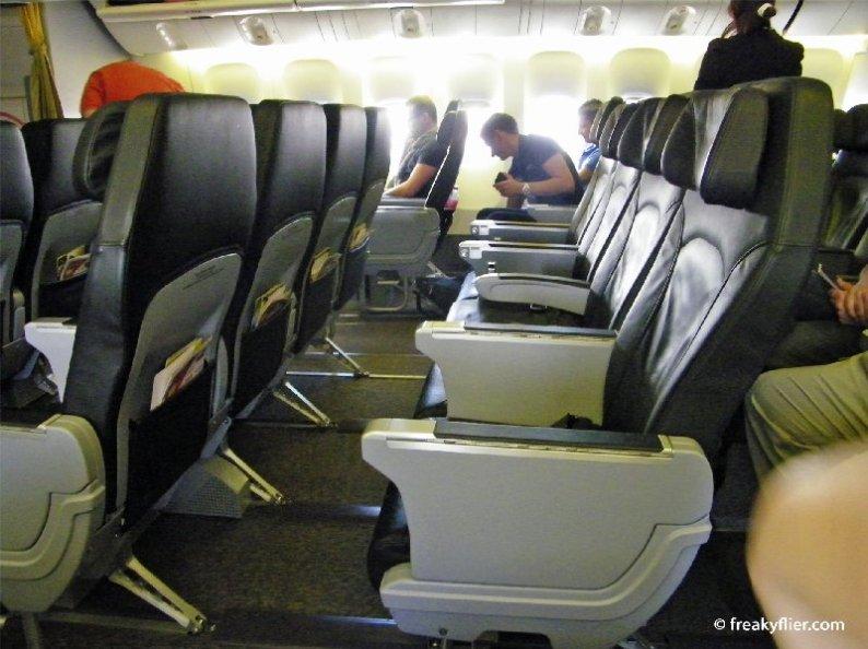 ScootBiz Cabin seating 32 passengers