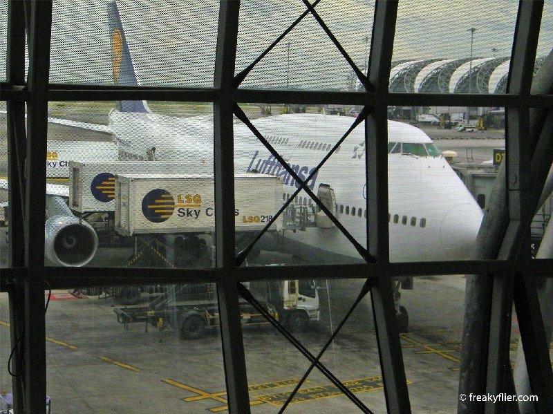Lufthansa B747-400, D-ABVO at Bangkok Suvarnabhumi Airport