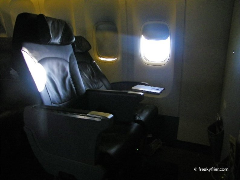 """The seat reclines to 20"""" (8cms)"""