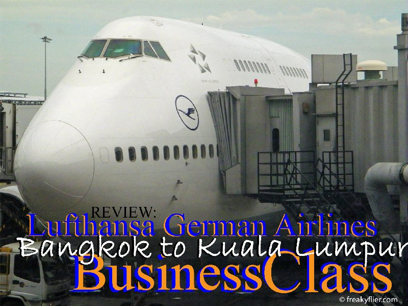 Review: Lufthansa German Airlines - Bangkok to Kuala Lumpur Business Class
