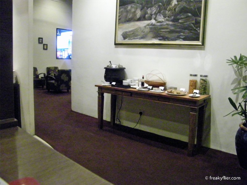 Entrance to the Plaza Premium Lounge