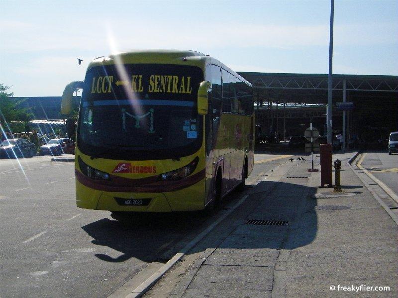 Aerobus - KL Sentral to KLIA LCCT
