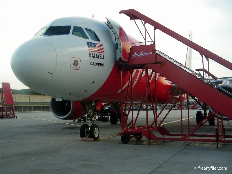 About to board my Air Asia a320 flight to Singapore