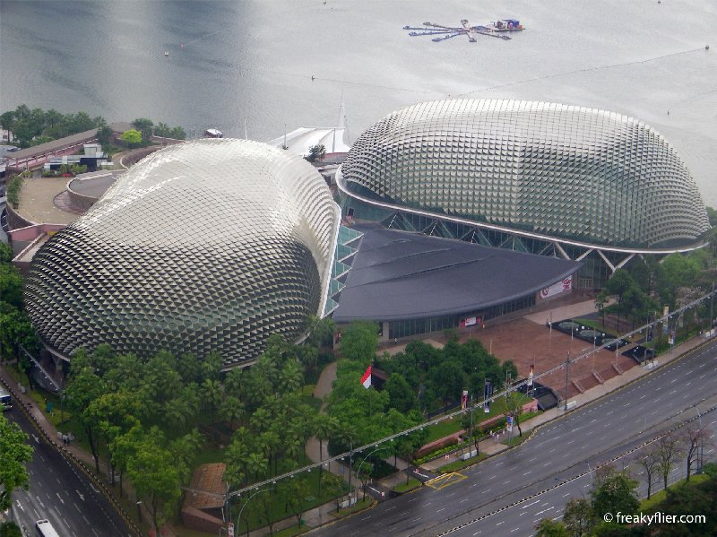 Esplanade - Theatres on the Bay or are they fly's eyes