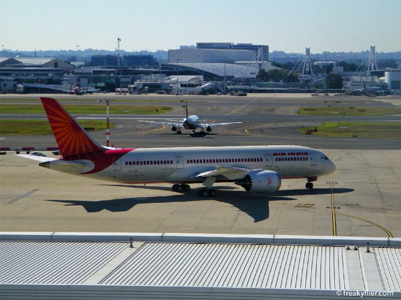Air India Boeing 787 set for departure for Melbourne and Delhi