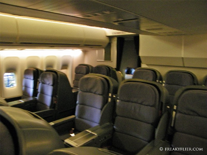 Main deck Business Class