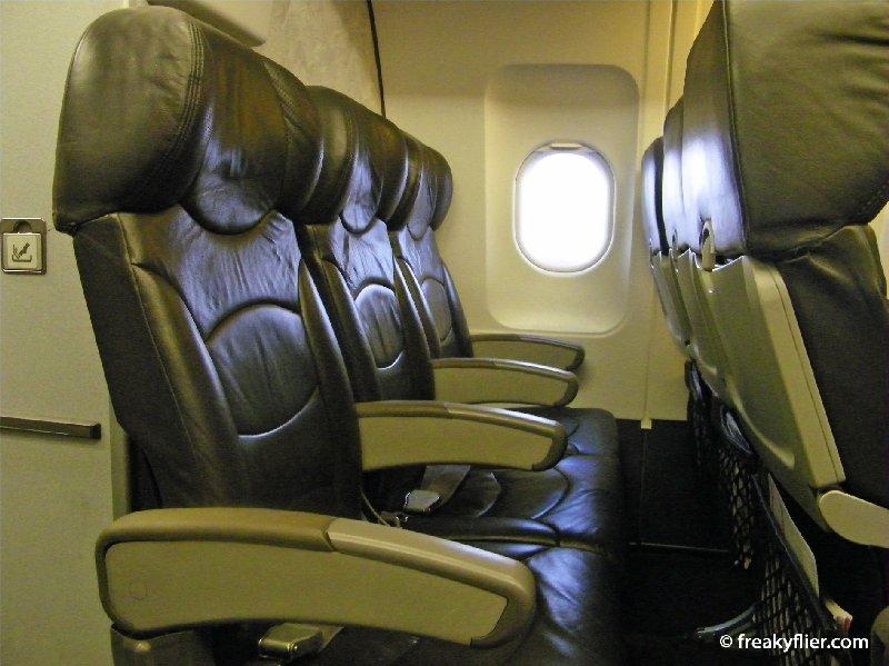 The non reclining row 30 seats