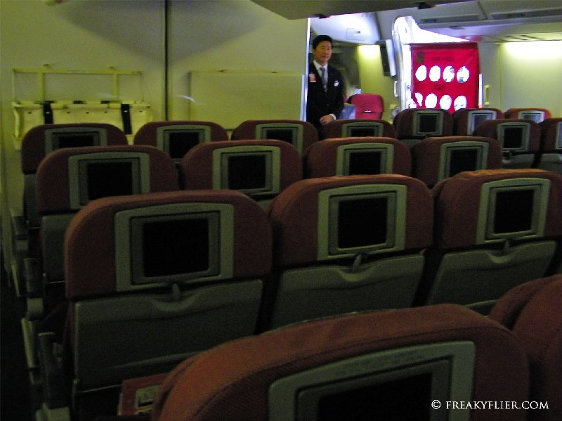 Economy Class AVOD screens