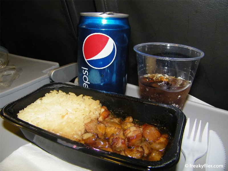 Meal - Teriyaki Chicken and Rice with soft drink