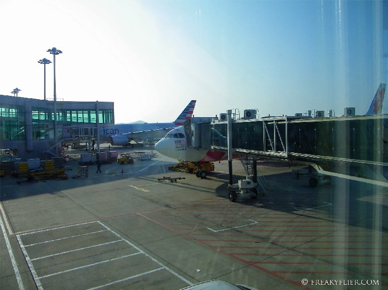 Arrival ontime into Seouls Incheon International Airport