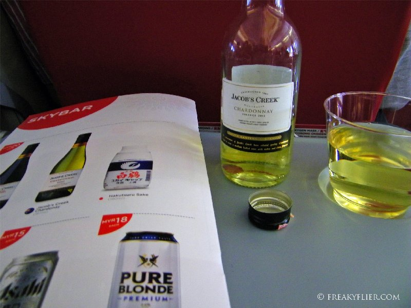 Wine time - Jacobs Creek Chardonnay MYR20/AUD6.64