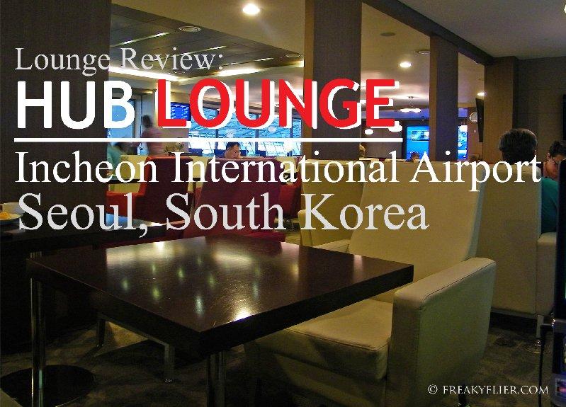 Lounge Review: HUB LOUNGE, Icheon International Airport, Seoul South Korea