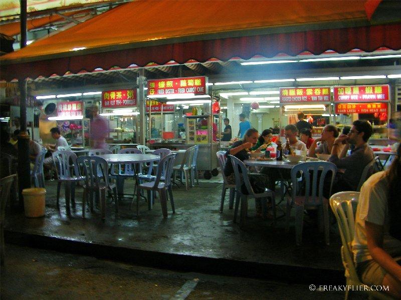 Restaurants offering an array of Asian foods