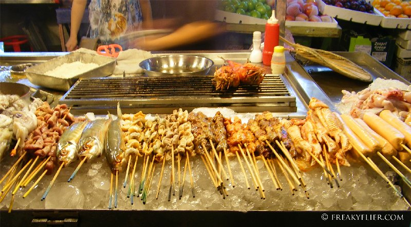 Choose your stick of goodness, steam, boil or fry and sauce it up then eat
