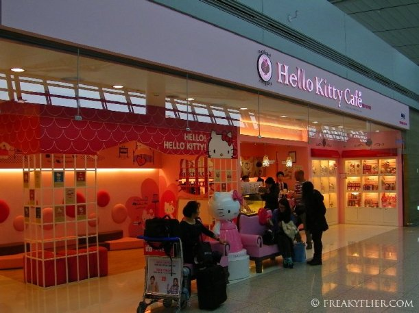 Hello Kitty Cafe - Incheon International Airport, Seoul, South Korea