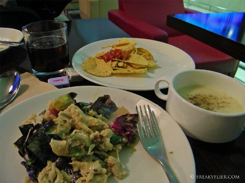 Salad, Soup, Salsa and a Scotch - enjoying The HUB Lounge
