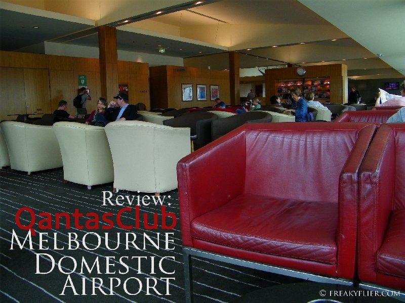 Review: QantasClub, Melbourne Domestic Airport