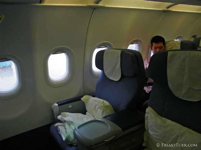 Business Class on China Southern's Airbus a321