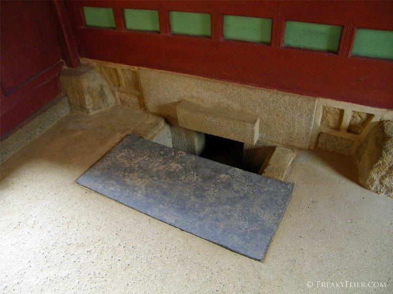Ondol - traditional underfloor heating